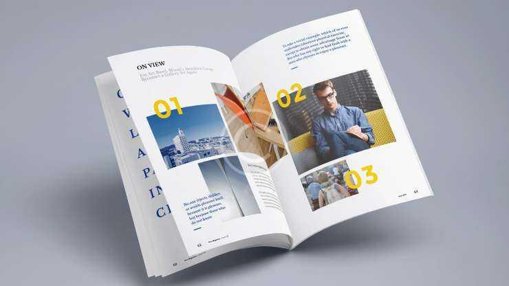 Custom View Magazine Design