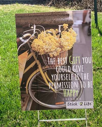 Design your Own Lawn Sign